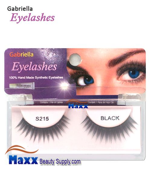 1 Package - Gabriella Eyelashes Strip Synthetic Hair - S215