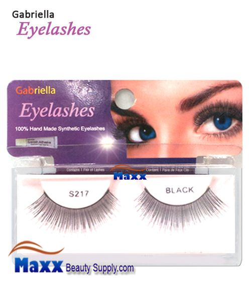 1 Package - Gabriella Eyelashes Strip Synthetic Hair - S217
