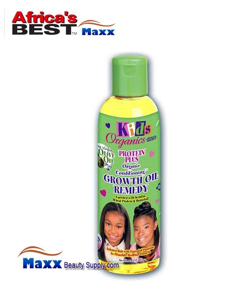 Africa's Best Kids Organics Protein Plus Growth Oil Remedy 8 oz