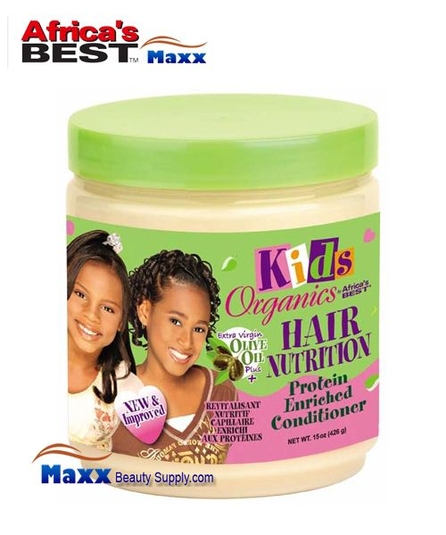 Africa's Best Kids Organics Hair Nutrition Protein Enriched Conditioner 15oz