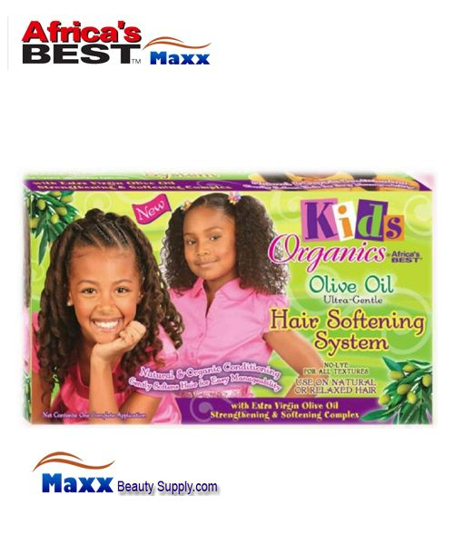 Africa's Best Kids Organics Olive Oil Hair Softening System Kit