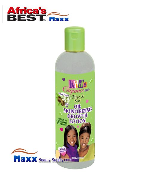 Africa's Best Kids Organics Olive & Soy Oil Moisturizing Growth Lotion 8oz