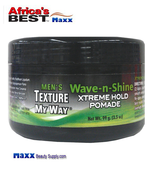 Africa's Best Men's Organics Wave-n-Shine Pomade 3.5oz
