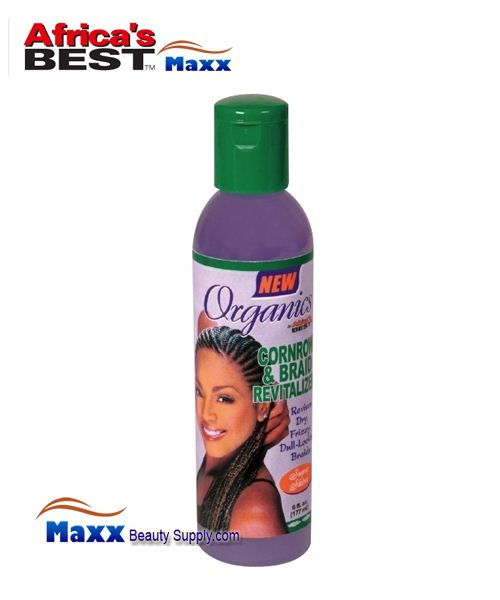 Africa's Best Organics Cornrow & Braid Revitalizer 6oz