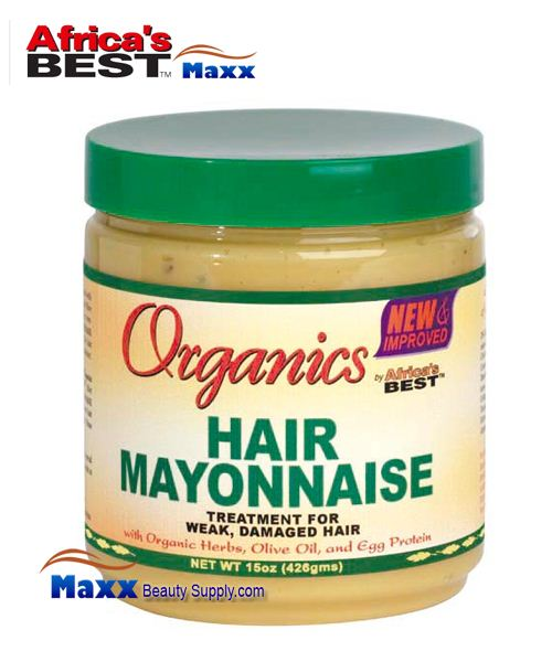 Africa 39 s best organics hair mayonnaise 15oz hair wig hair - Make best mayonnaise ...