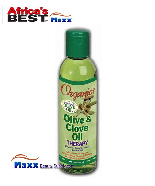 Africa's Best Organics Olive & Clove Oil Therapy 6oz