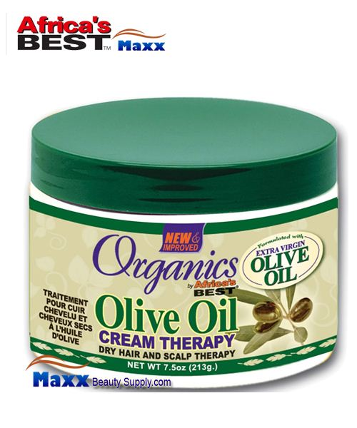 Africa's Best Organics Olive Oil Dry Hair and Scalp Therapy 7.5oz