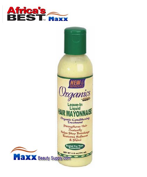Africa's Best Organics Leave-In Liquid Hair Mayonnaise 6oz