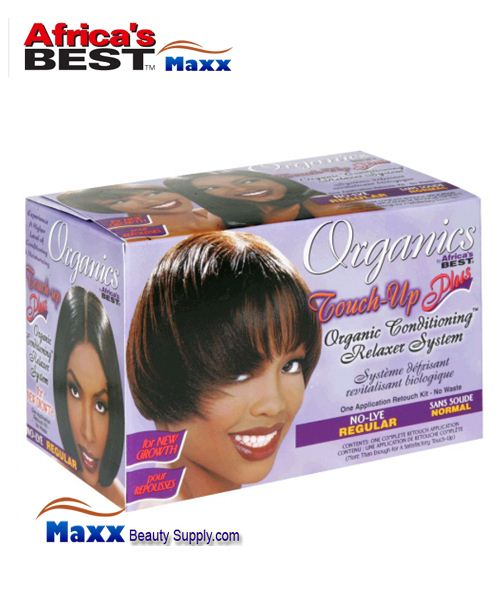 Africa's Best Organics Touch-Up Plus Organic Conditioning Relaxer System Kit - Regular
