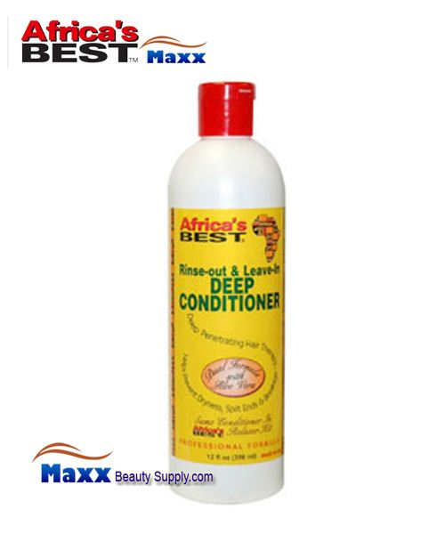 Africa's Best Rinse Out & Leave in Deep Conditioner 12oz