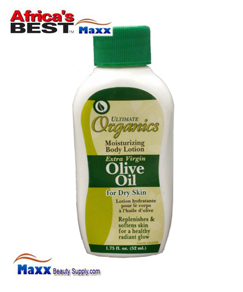 Africa's Best Ultimate Organics Extra Virgin Olive Oil Body Lotion 1.75oz.