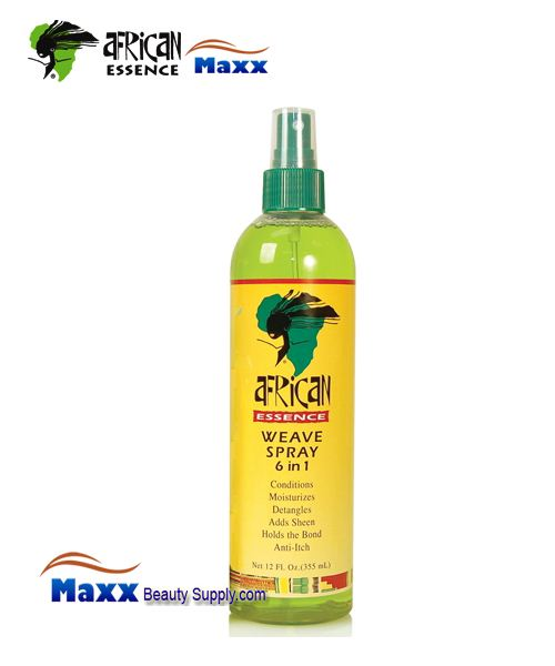 African Essence Weave Spray 6 In 1 12 oz