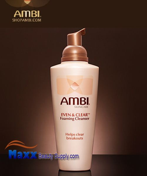 Ambi Even & Clear Foaming Cleanser 6oz