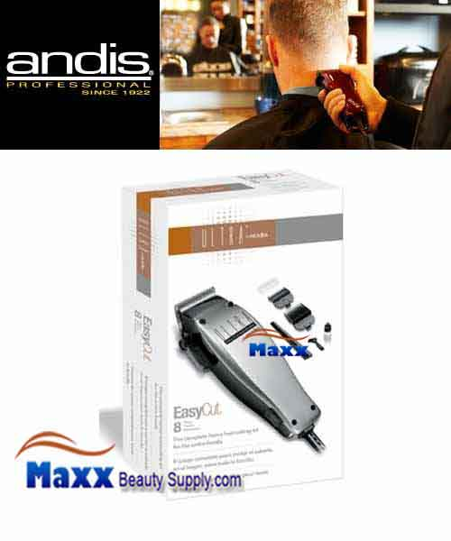 Andis #18365 Ultra Easy Cut 8 Piece Clipper Kit