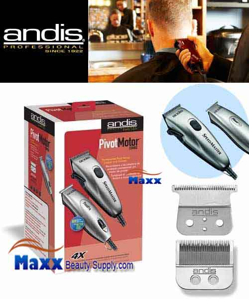 Andis #23965 Pivot Motor Clipper and Trimmer Combo