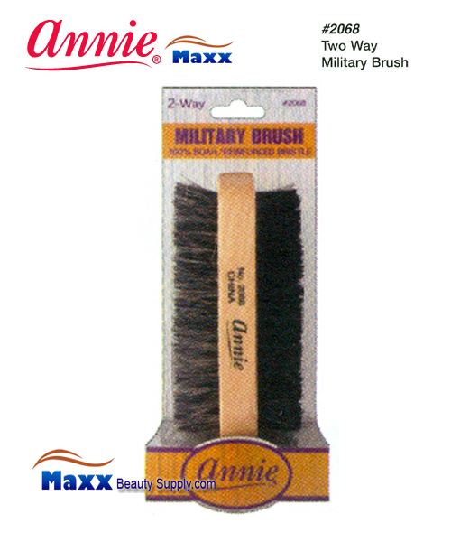 Annie Brush 2068 Military Brush - 2 Way