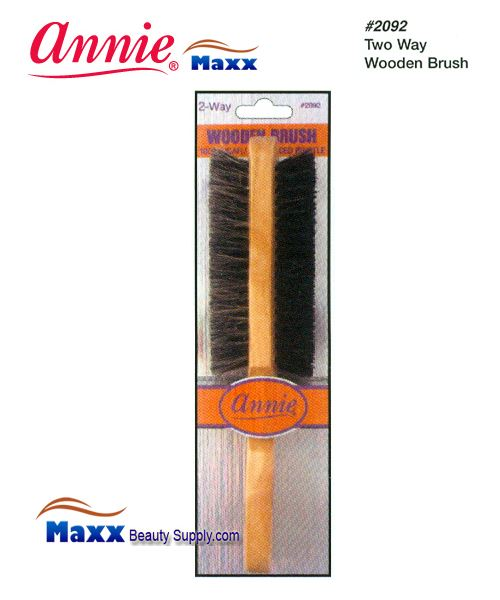 Annie Brush 2092 Wooden Brush - 2 Way