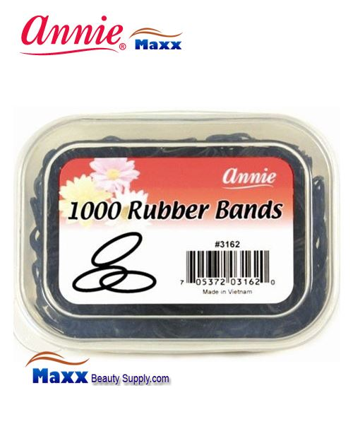 Annie Band 3162 1000 Rubber Bands 1000ct - Black