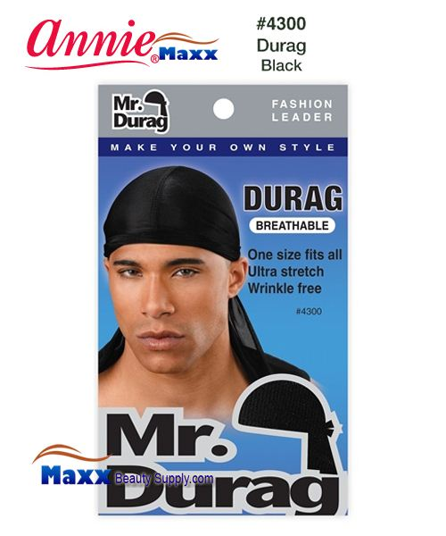 Annie MR Durag Solid - 4300(Black)