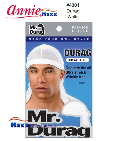 Annie MR Durag Solid - 4301(White)