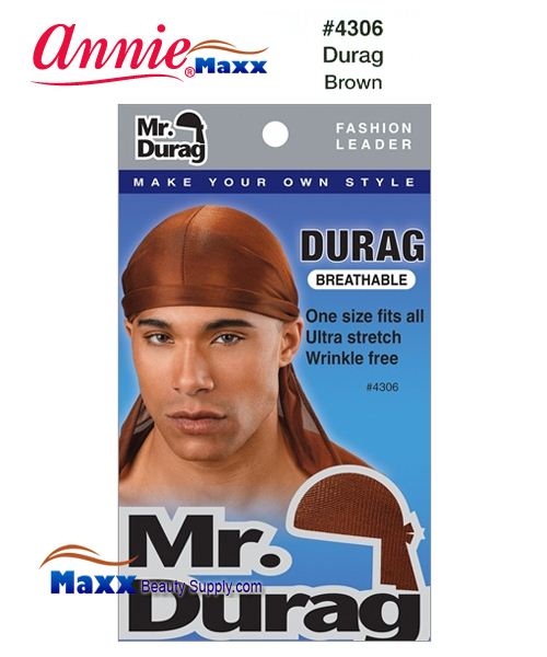Annie MR Durag Solid - 4306(Brown)