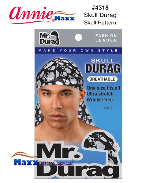 Annie MR Durag Skull Patterned - 4318