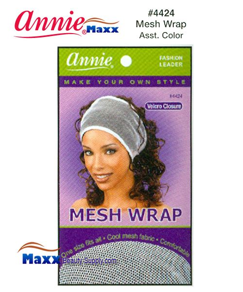 Annie Mesh Wrap - 4424(Assorted Colors)