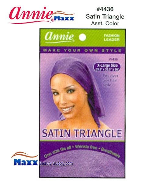 Annie Satin Triangle X-Large - 4436(Assorted Color)