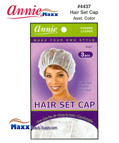 Annie Hair Set Cap - 4437(Assorted Colors)