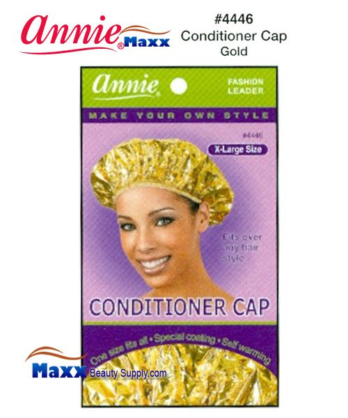 Annie Conditioner Cap - 4446(Gold)