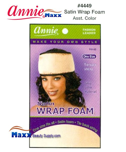 Annie Satin Wrap Foam - 4449(Assorted Colors)