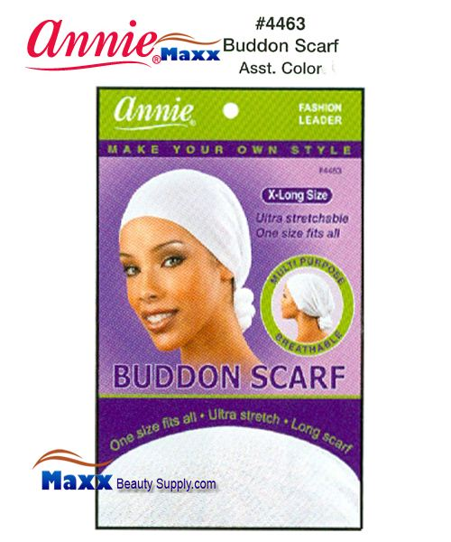 Annie Buddon Scarf - 4463(Assorted Colors)