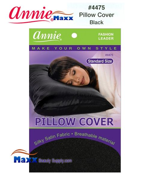 Annie Pillow Cover Standard Size - 4475(Black)