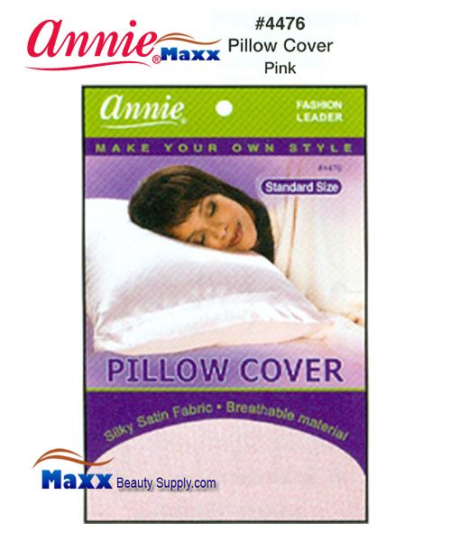 Annie Pillow Cover Standard Size - 4476(Pink)