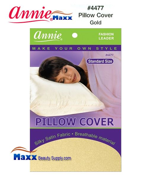 Annie Pillow Cover Standard Size - 4477(Gold)