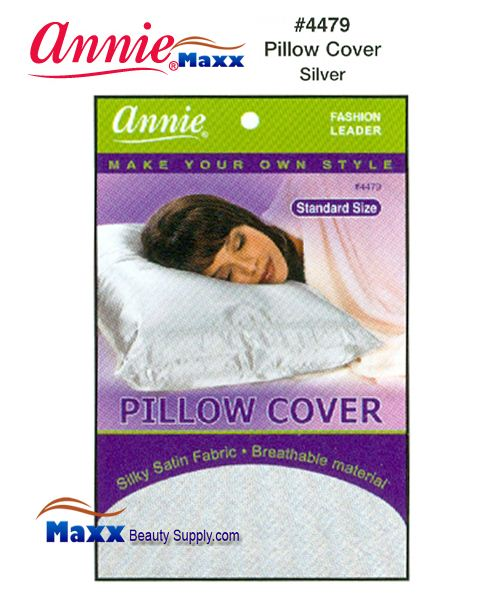 Annie Pillow Cover Standard Size - 4479(Silver)