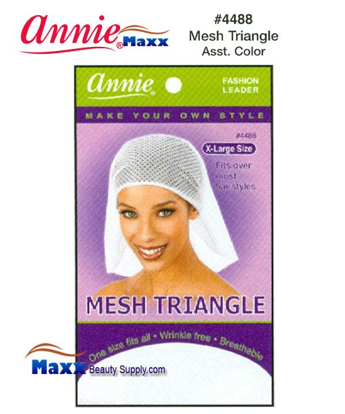 Annie Mesh Triangle - 4488(Assorted Colors)