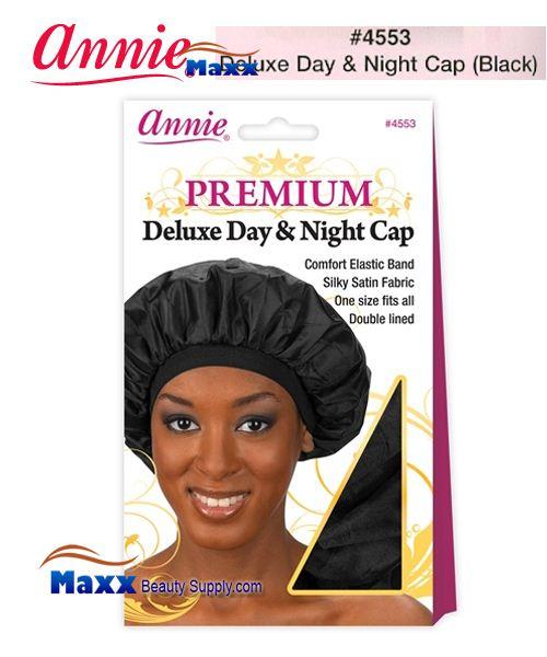 Annie Premium Deluxe Women  4553 Day   Night Cap - Black efb9b6332c9