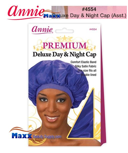 Annie Premium Deluxe Women #4554 Day & Night Cap - Assort