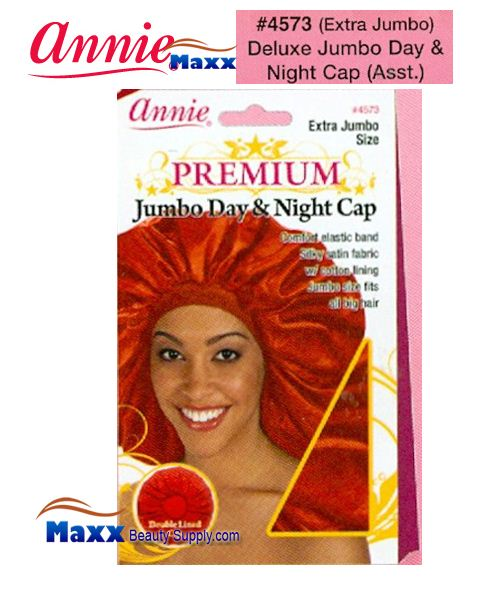Annie Premium Deluxe Women #4573 Extra Jumbo Day & Night Cap - Assort