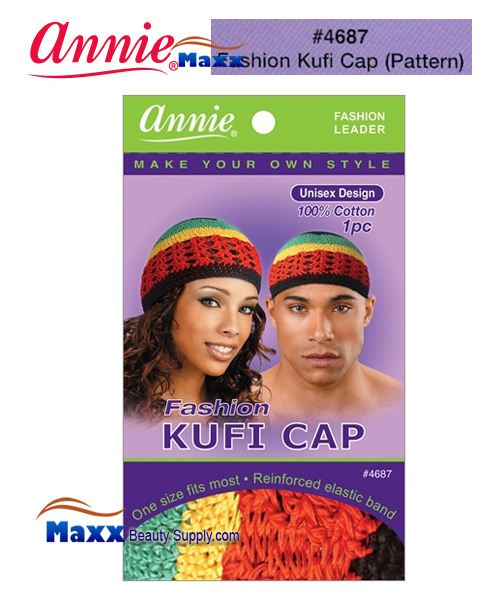 Annie Fashion Kufi Cap - 4687(Pattern)