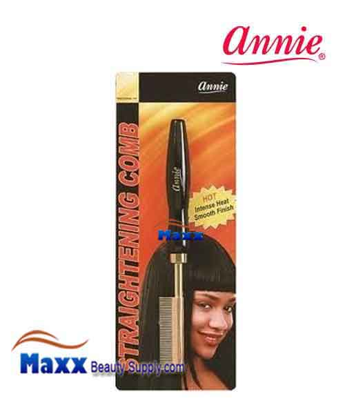 Annie #5505 Straightening Comb - Small temple fine teeth