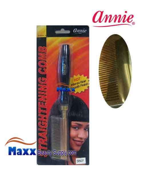 Annie #5507 Straightening Comb - Medium Teeth