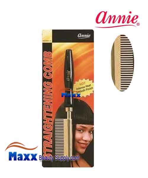 Annie #5510 Straightening Comb - Wide Teeth