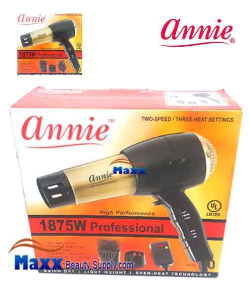 Annie #5774 Professional Gold Hair Dryer