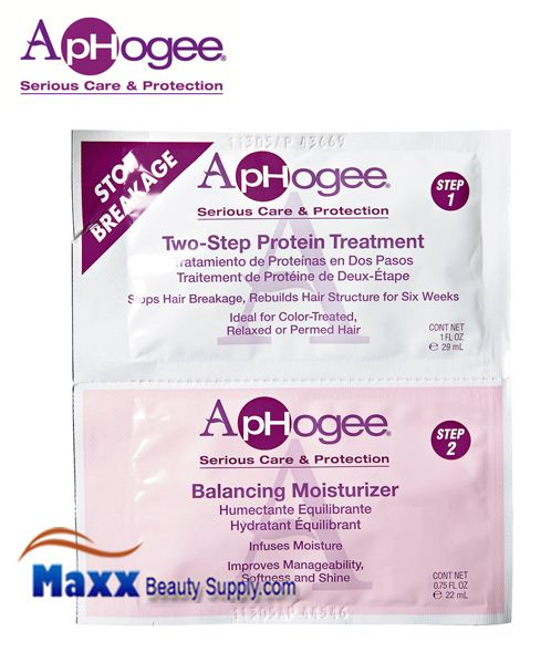 ApHogee 2-Step Protein Treatment and Balanced Moisturizer - Pack
