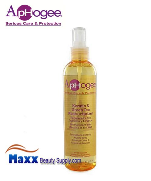 ApHogee Keratin and Green Tea Restructurizer 8oz