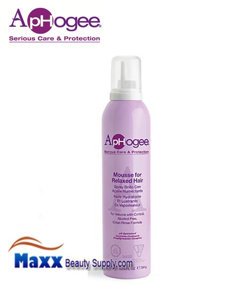 ApHogee Mousse for Relaxed Hair 9.25oz