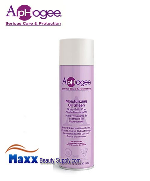 ApHogee Moisturizing Oil Sheen Spray - 12oz aerosaL