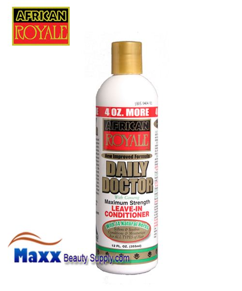 African Royale Daily Doctor Maximum Strength Leave-In Conditioner 12oz